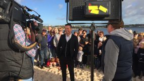 Channel 9's Today Show live from Port Vincent