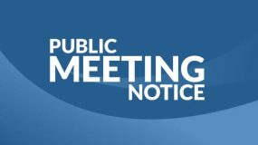 Notice of Public Meeting: Marion Bay