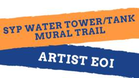 SYP Water Tower/Tank Mural Trail Artist Expression of Interest