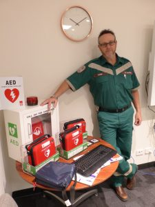 Defibrillators for YP Council Worksites