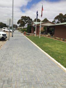 Maitland Hospital Footpath Completed