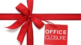 Office closures over Christmas period