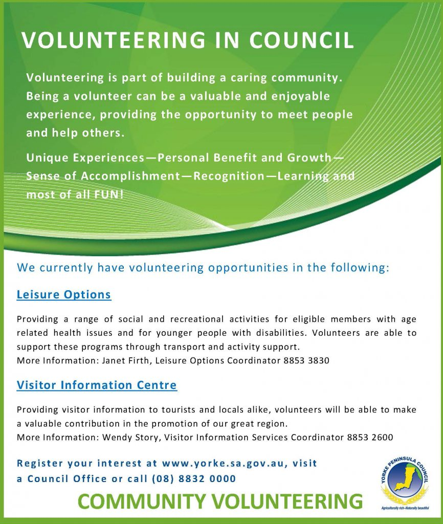 VolunteeringInCouncil2015