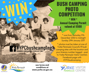 Bush camping photo competition